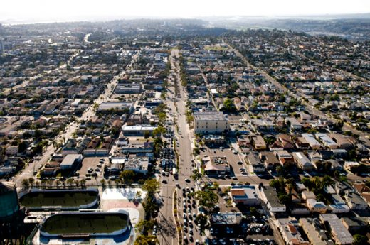 Uptown San Diego, a location where housing scarcity may hit hardest.
