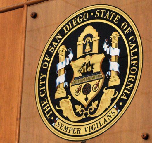 San Diego City Seal as the San Diego Economy booms