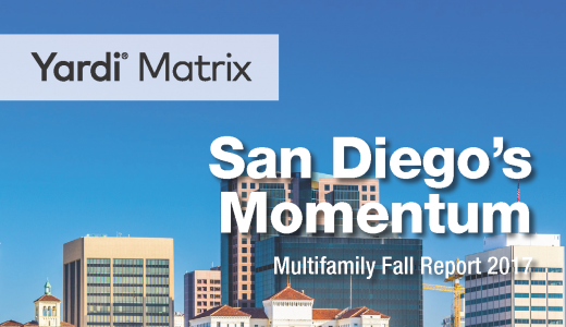 Yardi Matrix Momentum Fall Report 2017