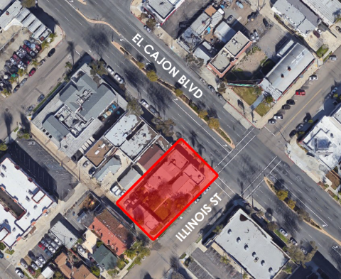 3085-95 El Cajon Blvd, Redevelopment Site in North Park Sold for $2,350,000