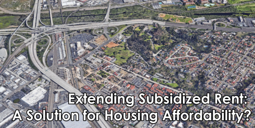 Extending Subsidized Rent A Solution for Housing Affordability