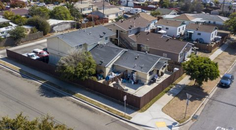 2011 B Avenue, 4 units in National City Sold for $875,000