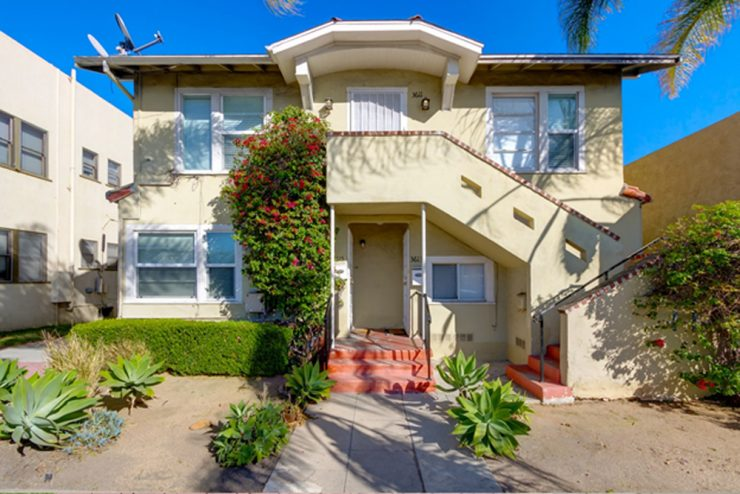 3609 30th, 5 Units in North Park that sold for $1,640,000