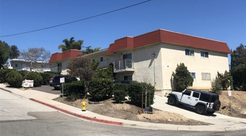 1119 34th Street, 10 Unit Apartment Complex in Golden Hill Sold for $2,500,000