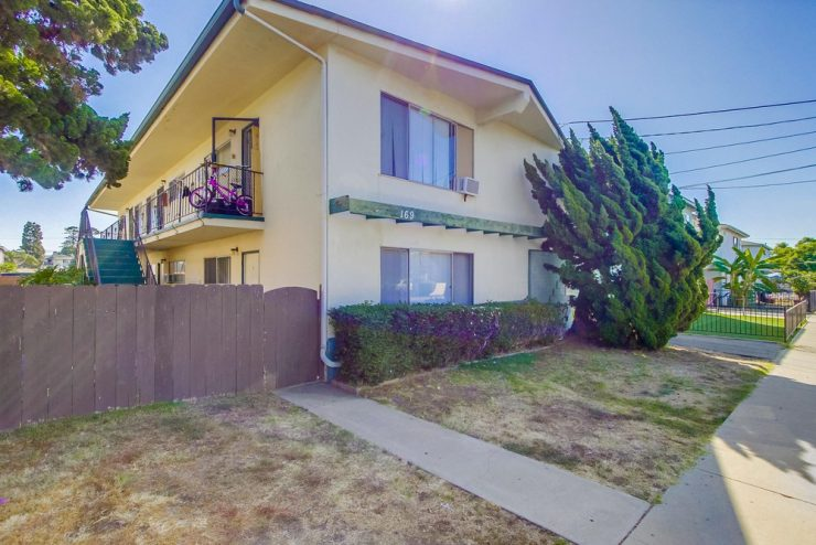 169 Glover Ave, 6 Unit Multifamily Property in Chula Vista Sold for $1,250,000