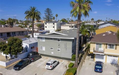 4033 Florida Street, 10 Unit Multifamily Property in North Park Sold for $2,950,000