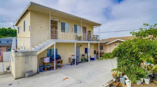 1704-1708 D Ave, 4 units in National City Sold for $825,000